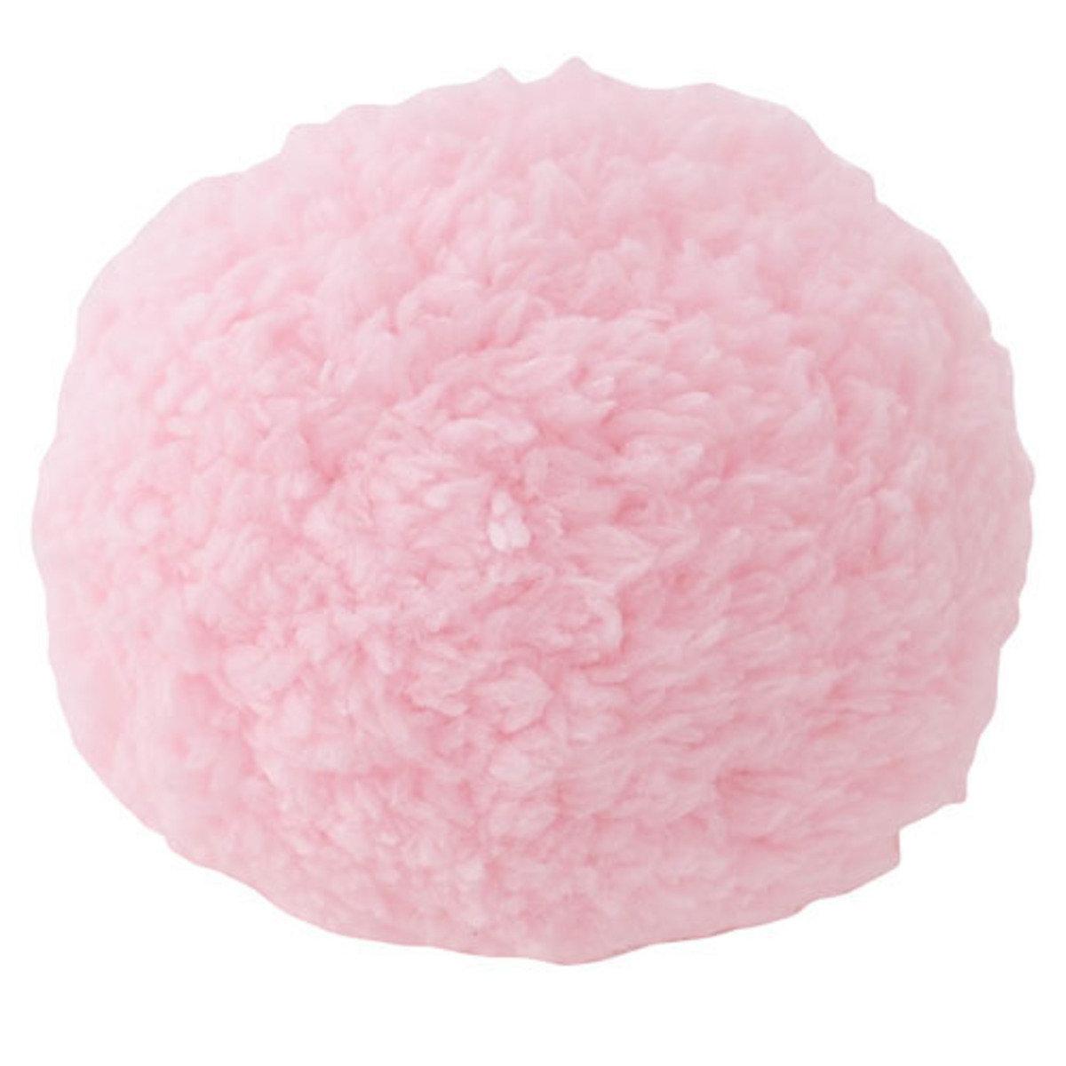 貓玩具鈴鈴棉花球(粉色)(A23746)
