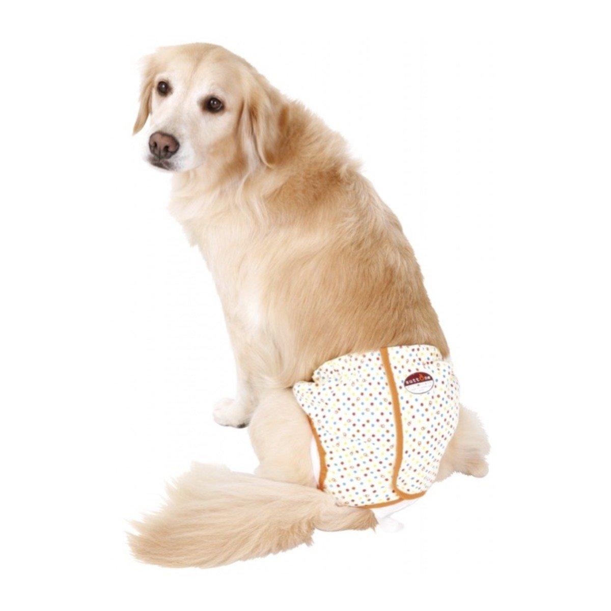 高齡犬護理出街專用圓點尿褲 3L(狗囡)(W24081)