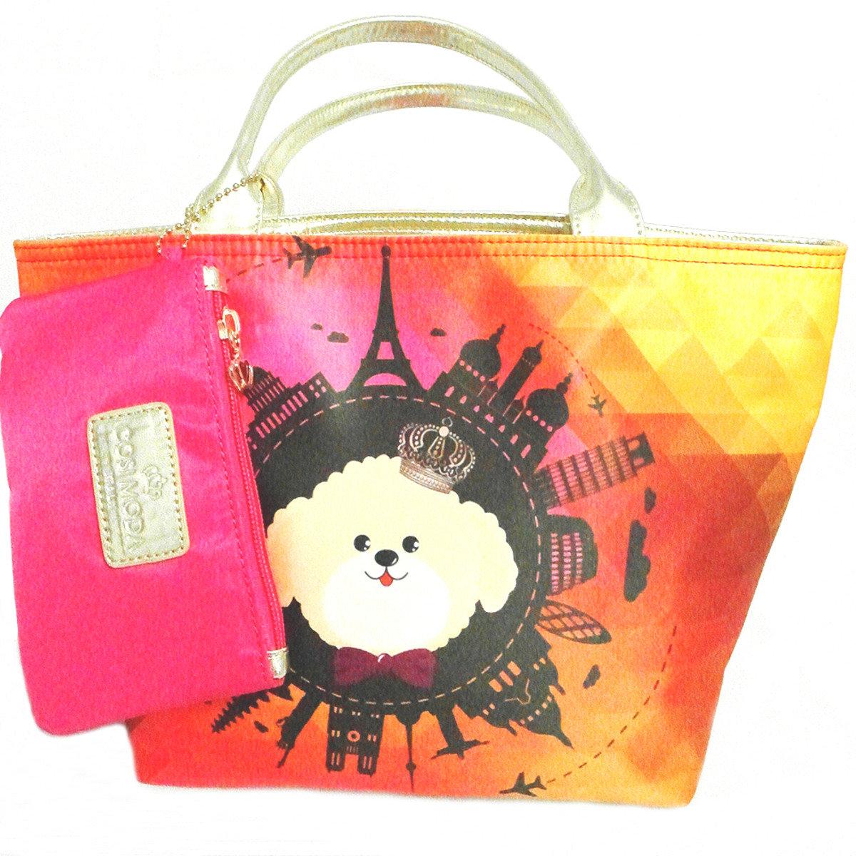 多用途手挽袋-Momo世界