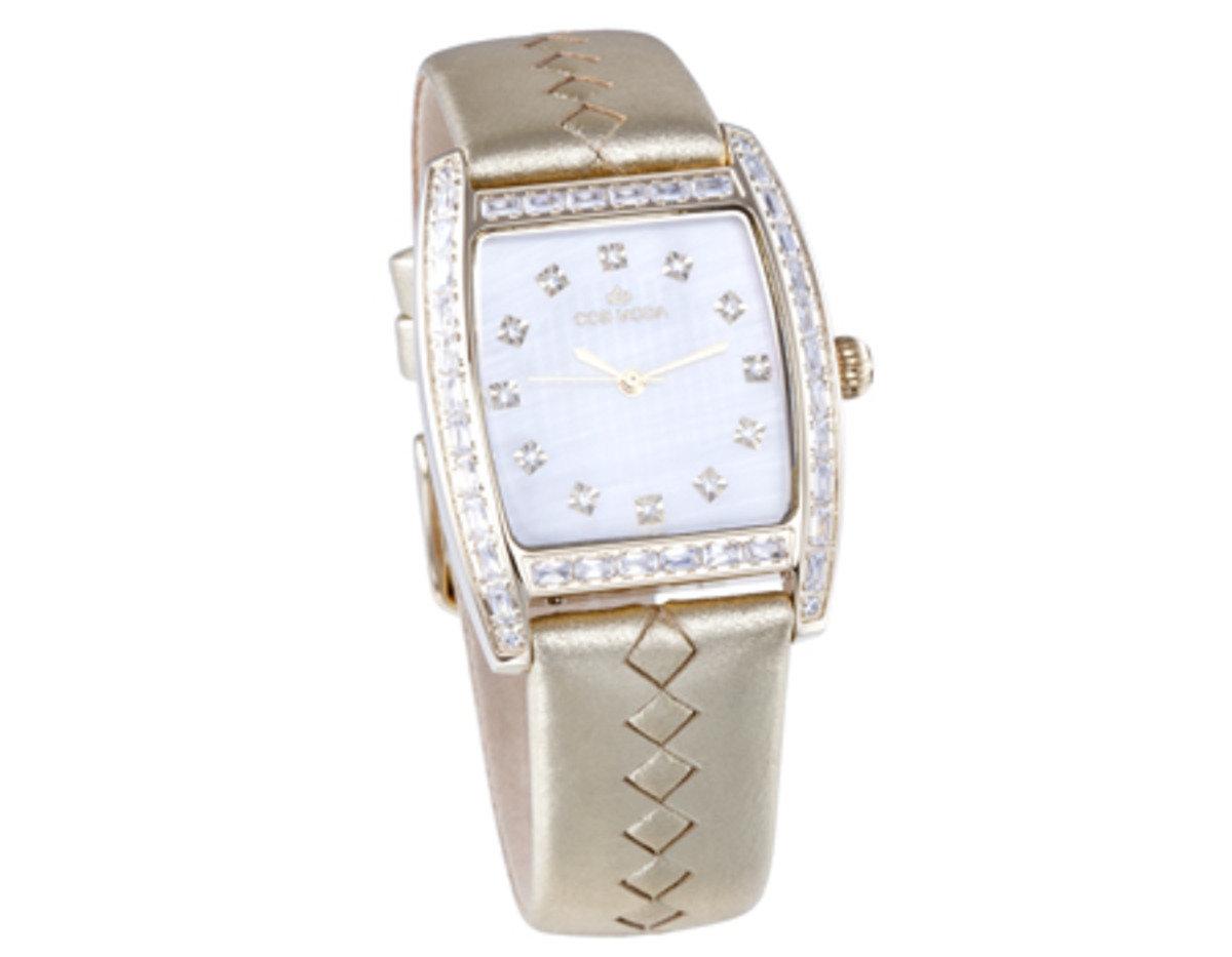 真皮 玫瑰金 精鋼 腕錶-個性
