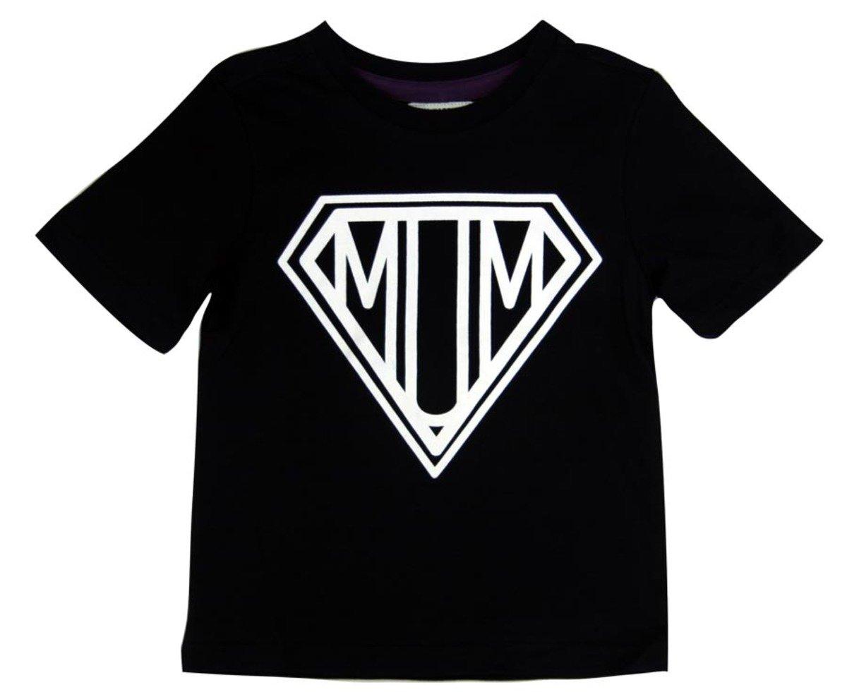 Super Mum Tee恤(黑色)
