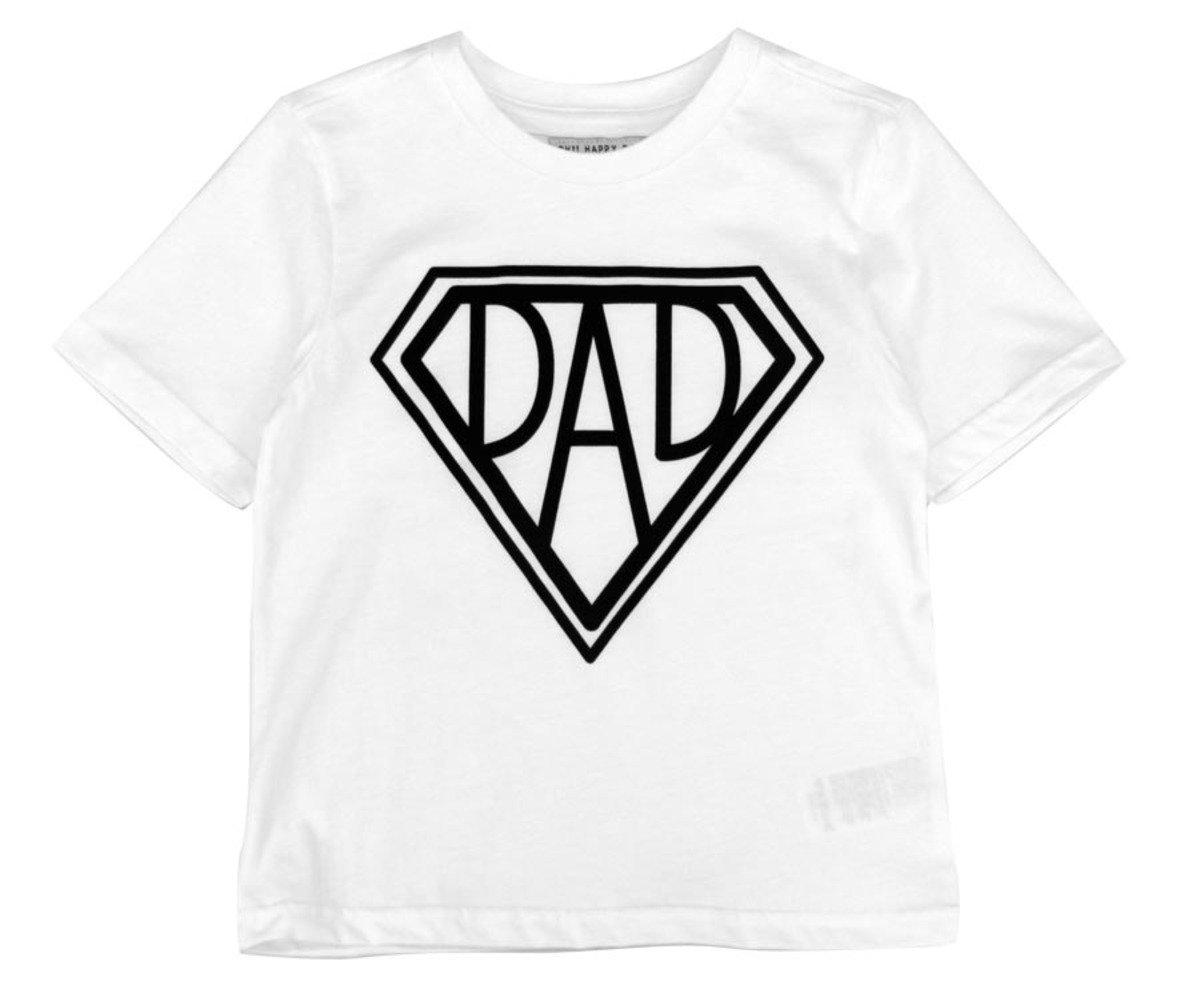 Super Dad Tee恤(白色)