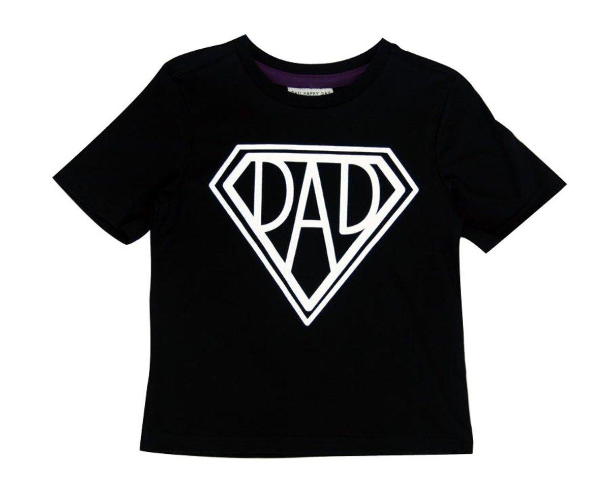 Super Dad Tee恤(黑色)