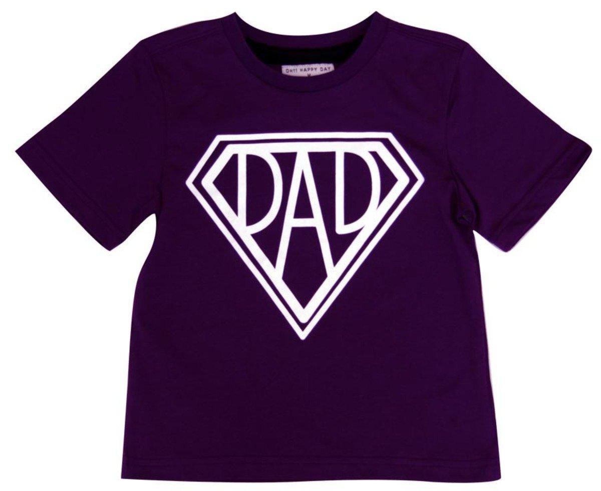 Super Dad Tee恤(紫色)