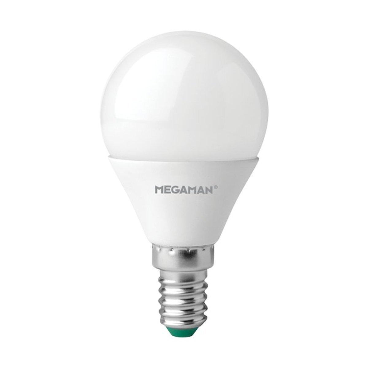 曼佳美 LED 5.5W E14 2800K 球型 燈膽 暖黃光