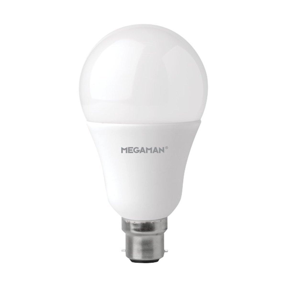 曼佳美 LED 14W B22 2800K 球型 燈膽 暖黃光