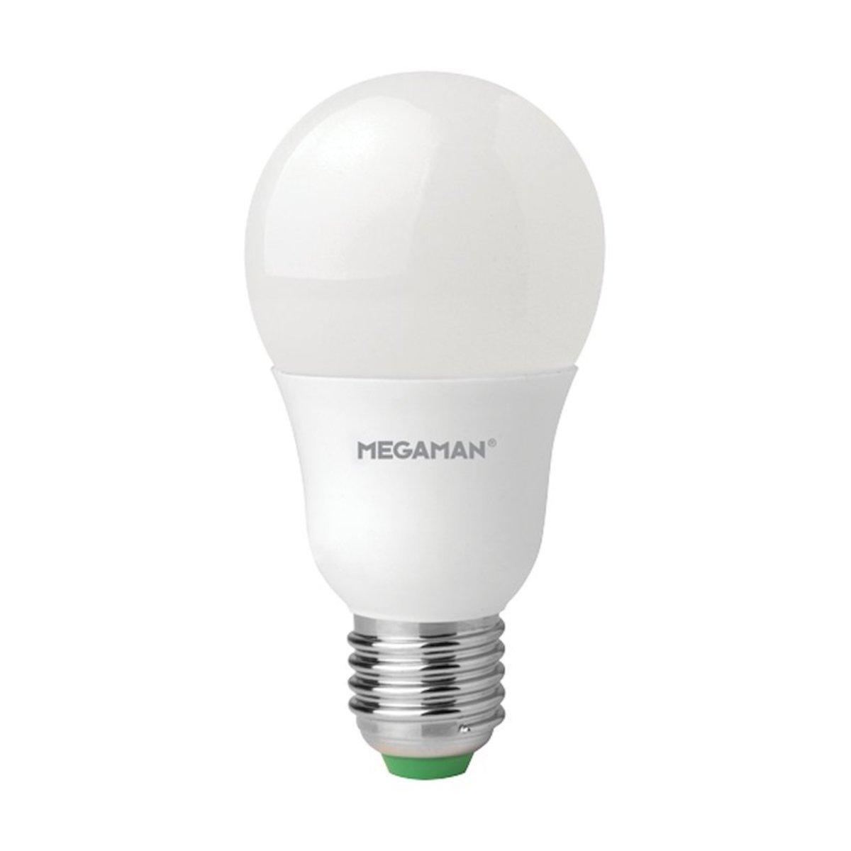曼佳美 LED 8W E27 6500K 球型 燈膽 冷日光