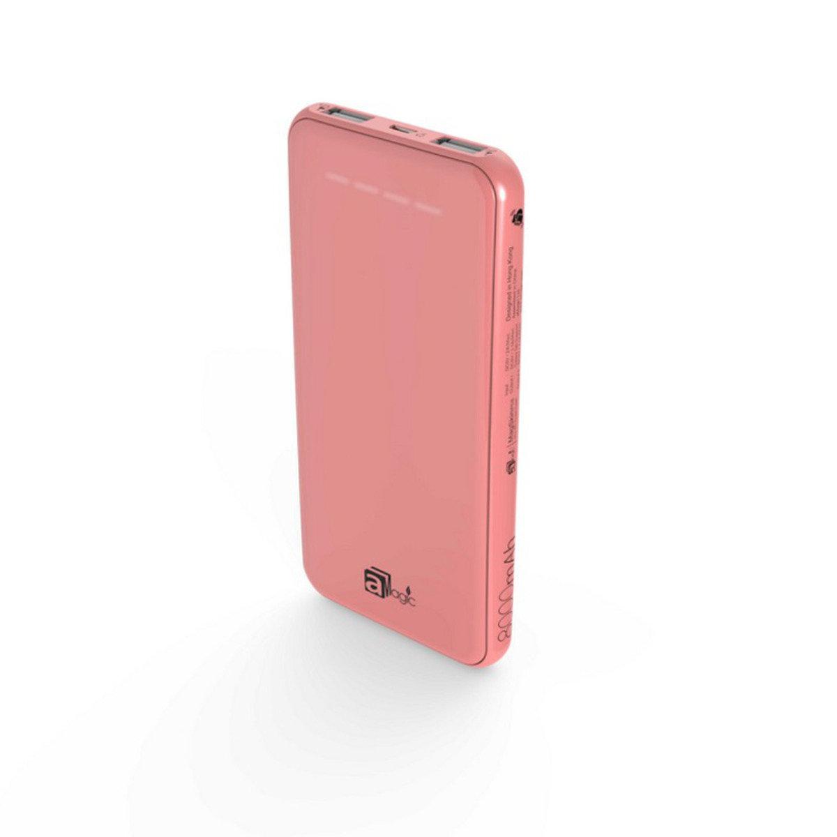 MagSkin - P08 8000mAh 纖薄型高容量行動電源(粉紅色) (APB-5280)