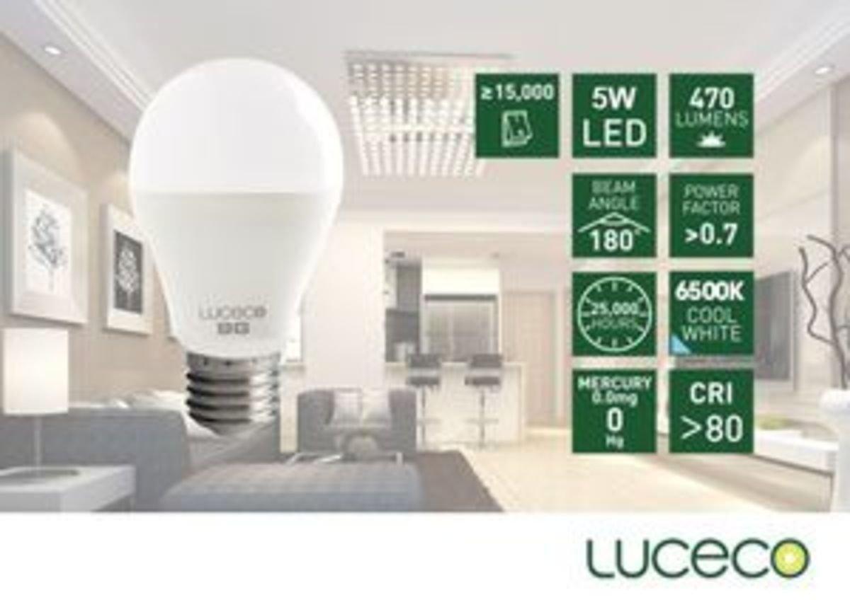 5W LED 電燈泡 (冷白 6500K)