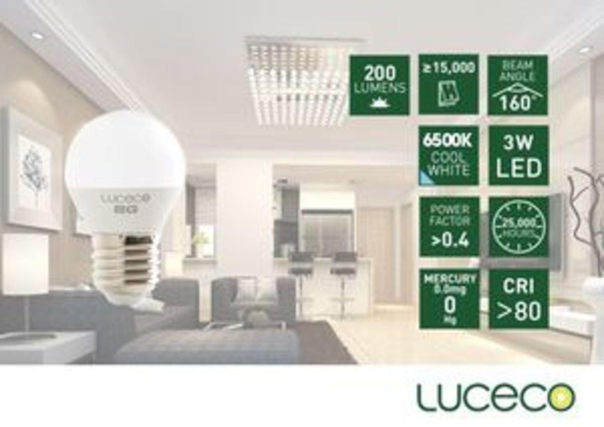 3W LED 電燈泡 (冷白 6500K)