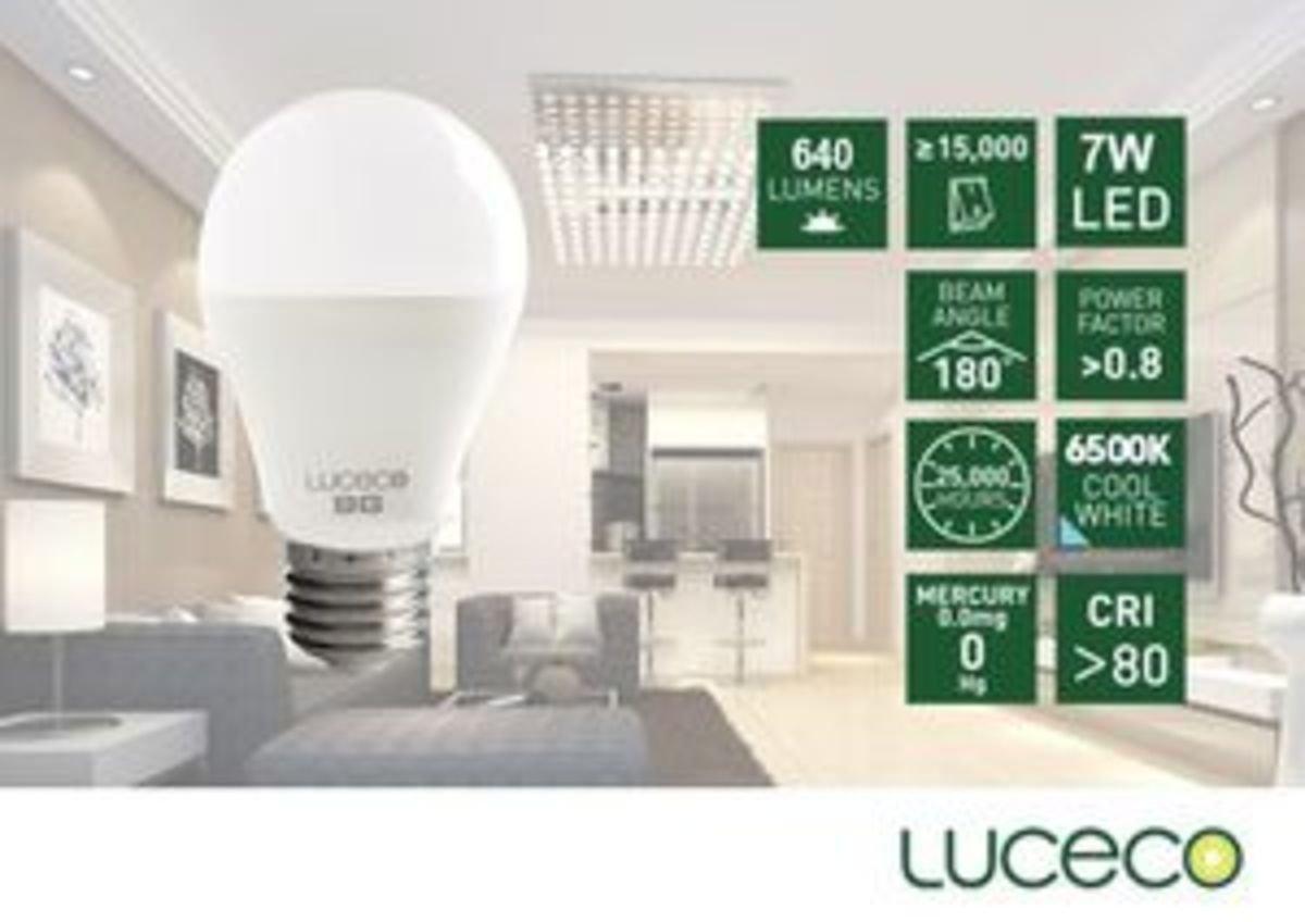 7W LED 電燈泡 (冷白 6500K)