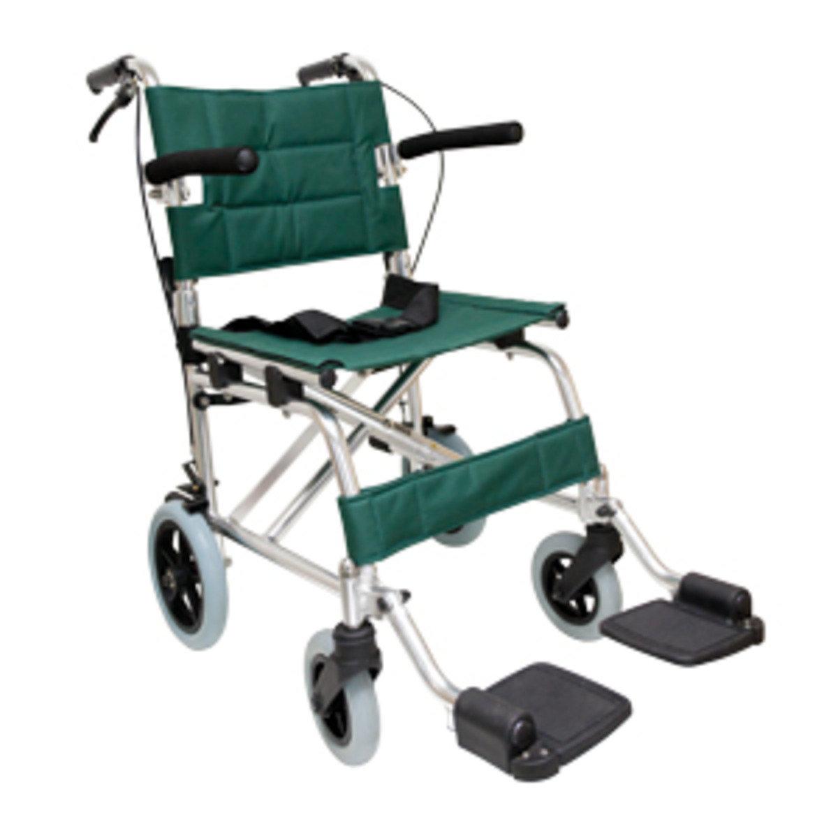 輕攜式摺合輪椅