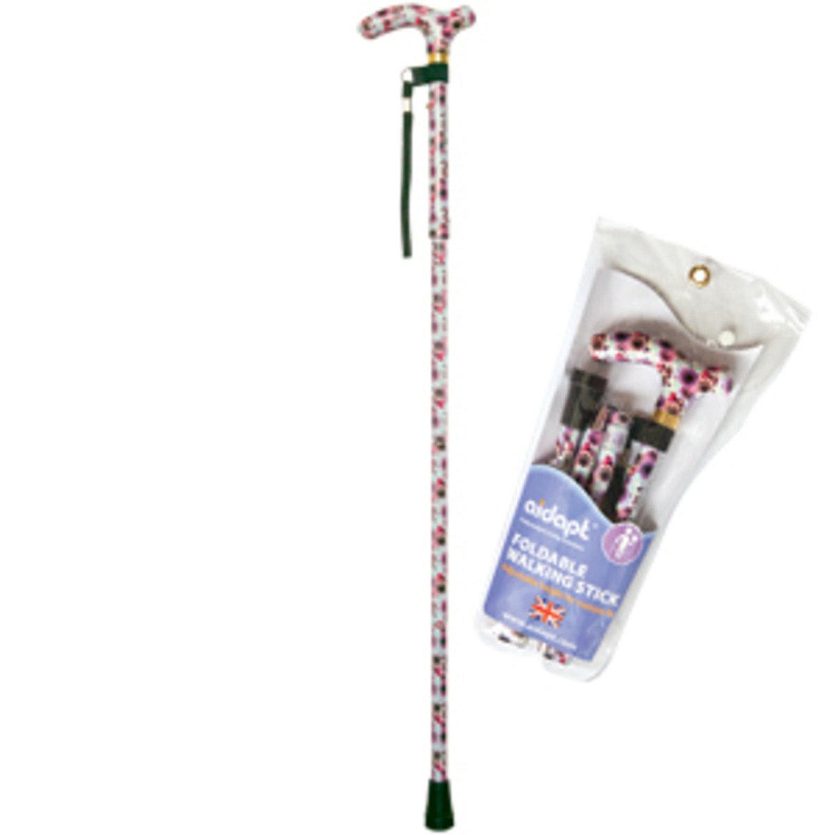 摺疊式手杖 (玫瑰)