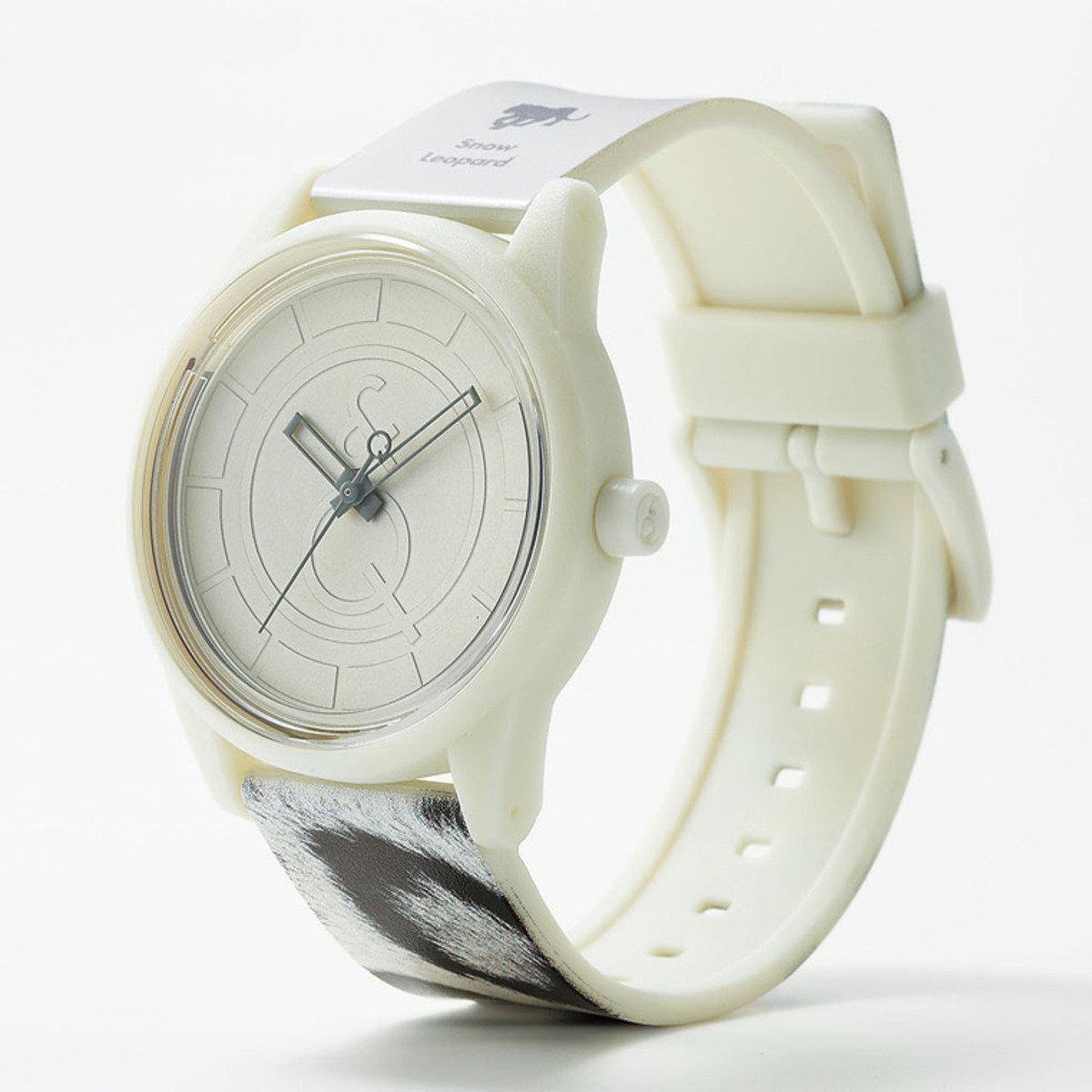 RED LIST 手錶 - 豹紋