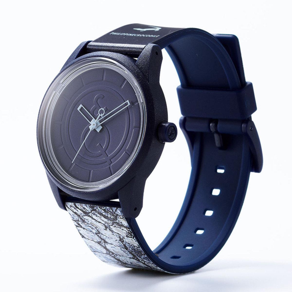 RED LIST 手錶 - 鱷魚紋