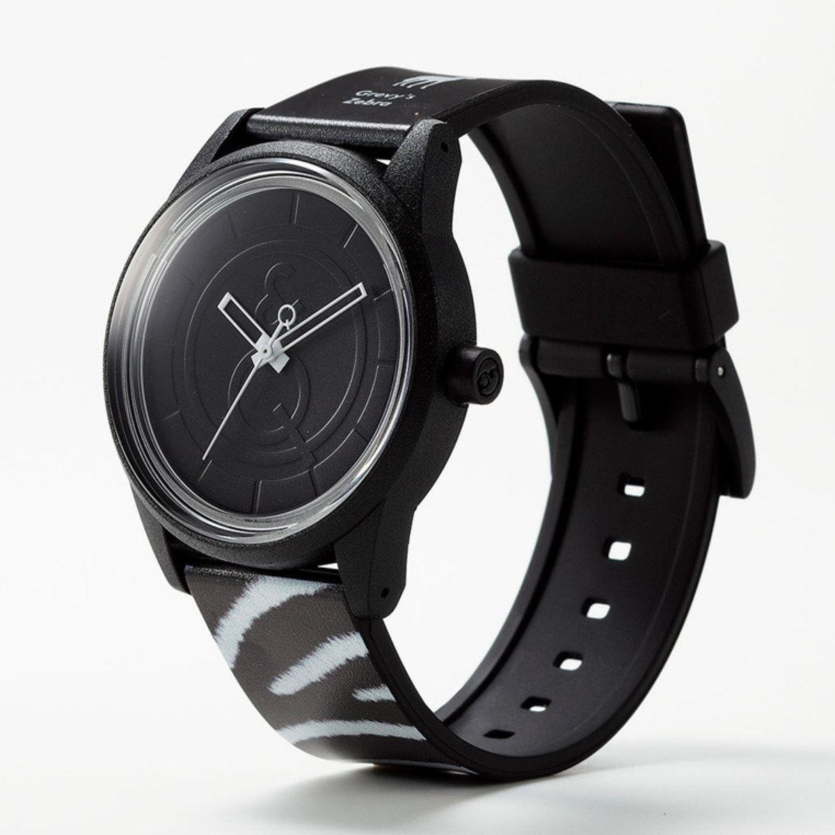 RED LIST 手錶 - 斑馬紋
