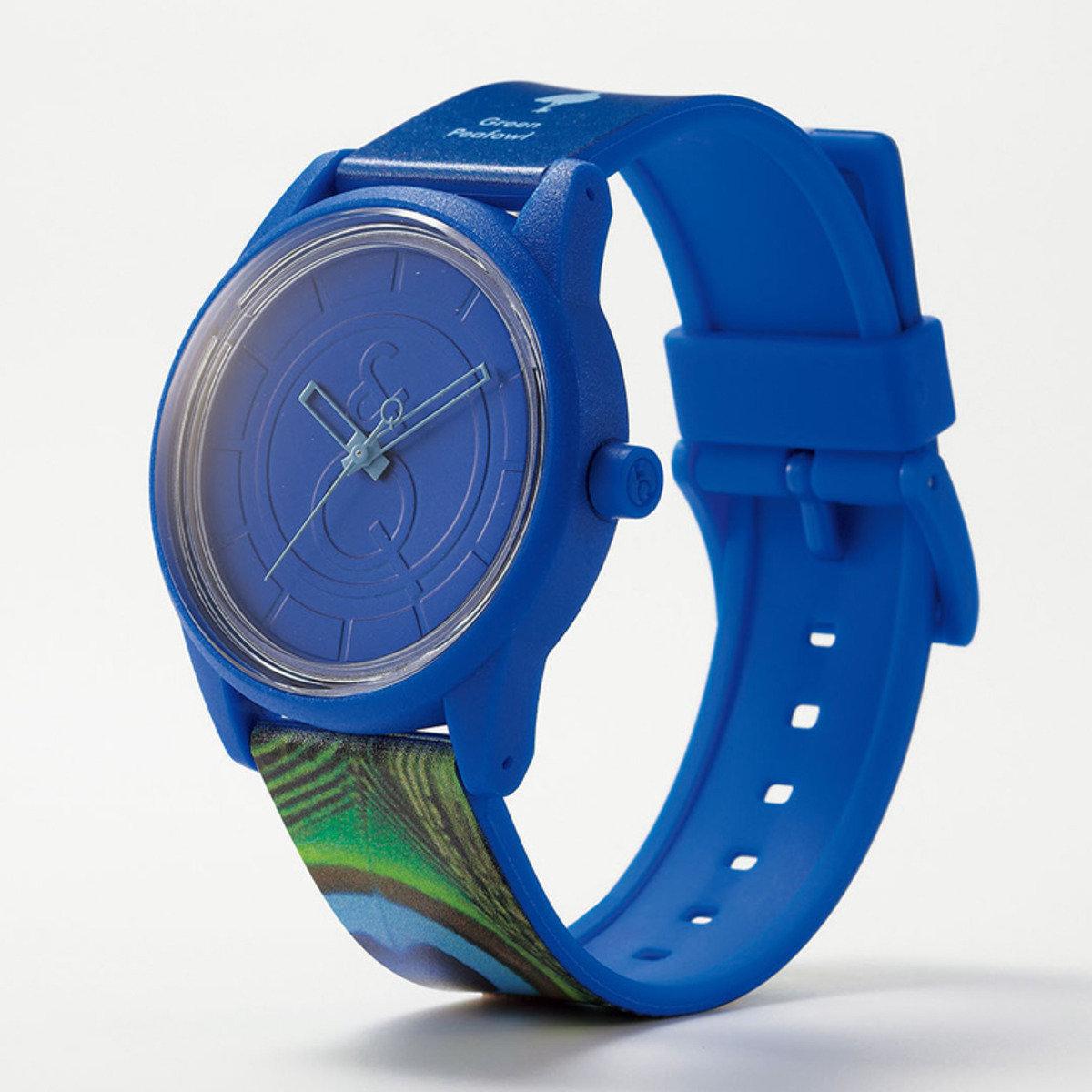 RED LIST 手錶 - 孔雀紋