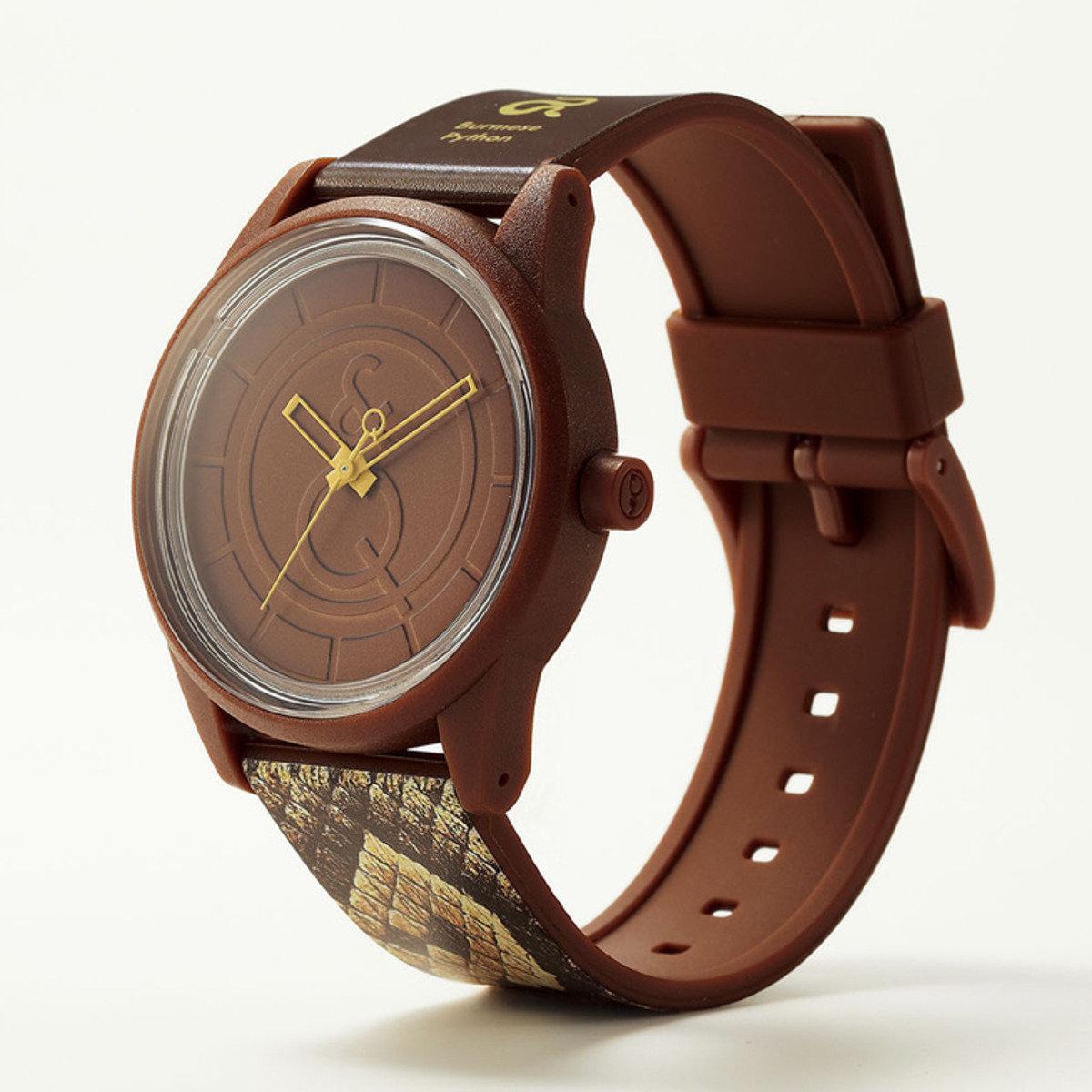RED LIST 手錶 - 蟒蛇紋