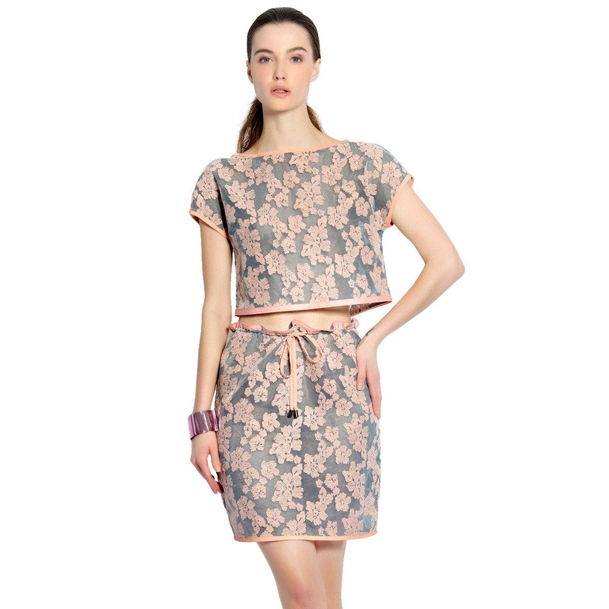 真絲梭織連身裙
