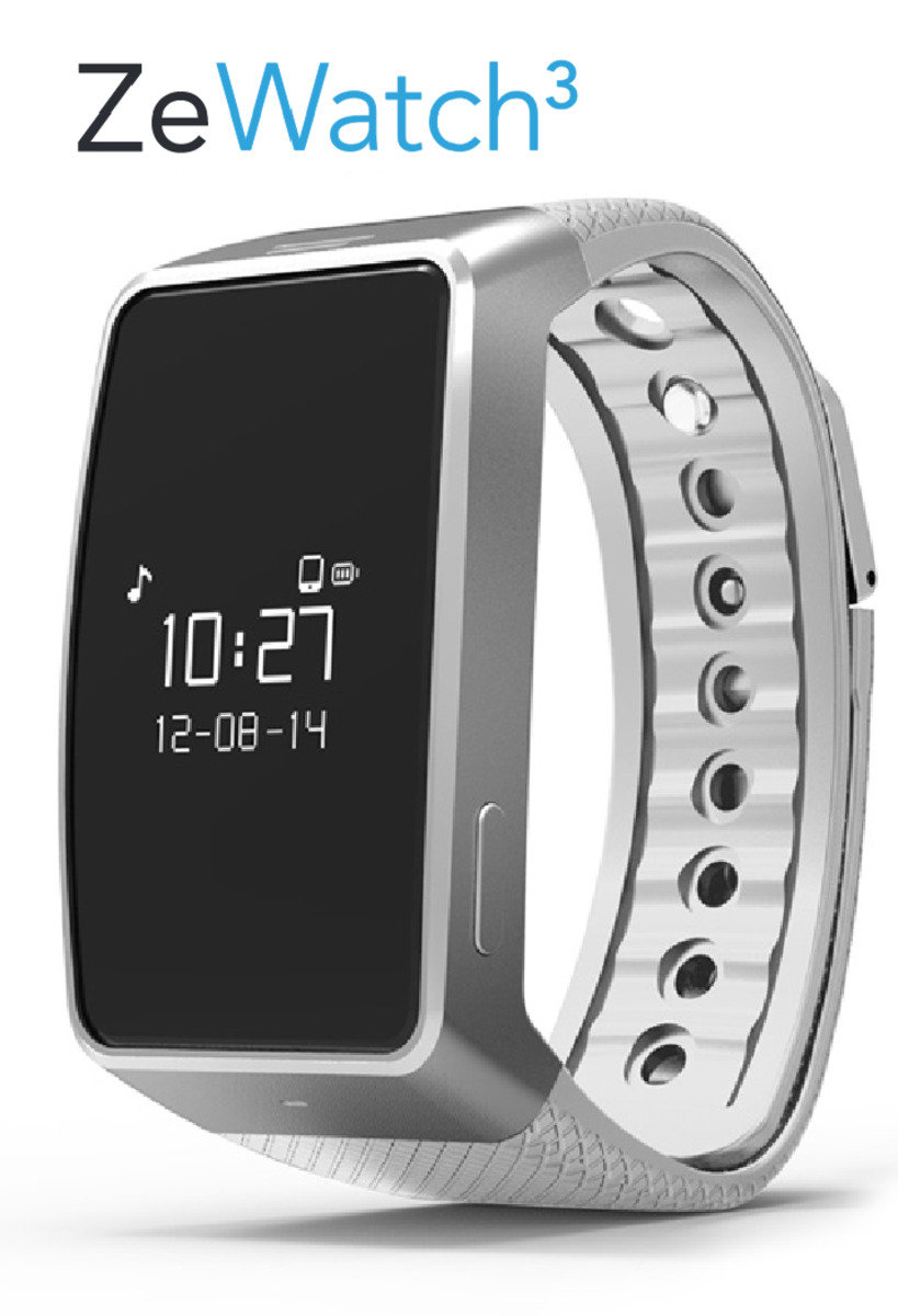 Mykronoz ZeWatch 3 智能手錶 - 白色