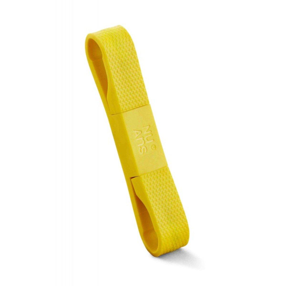 BANDWIRE Lightning cable MFI (蘋果授權) 傳輸充電線 - 黃色
