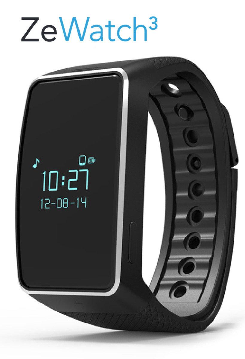 Mykronoz ZeWatch 3 智能手錶 - 黑色