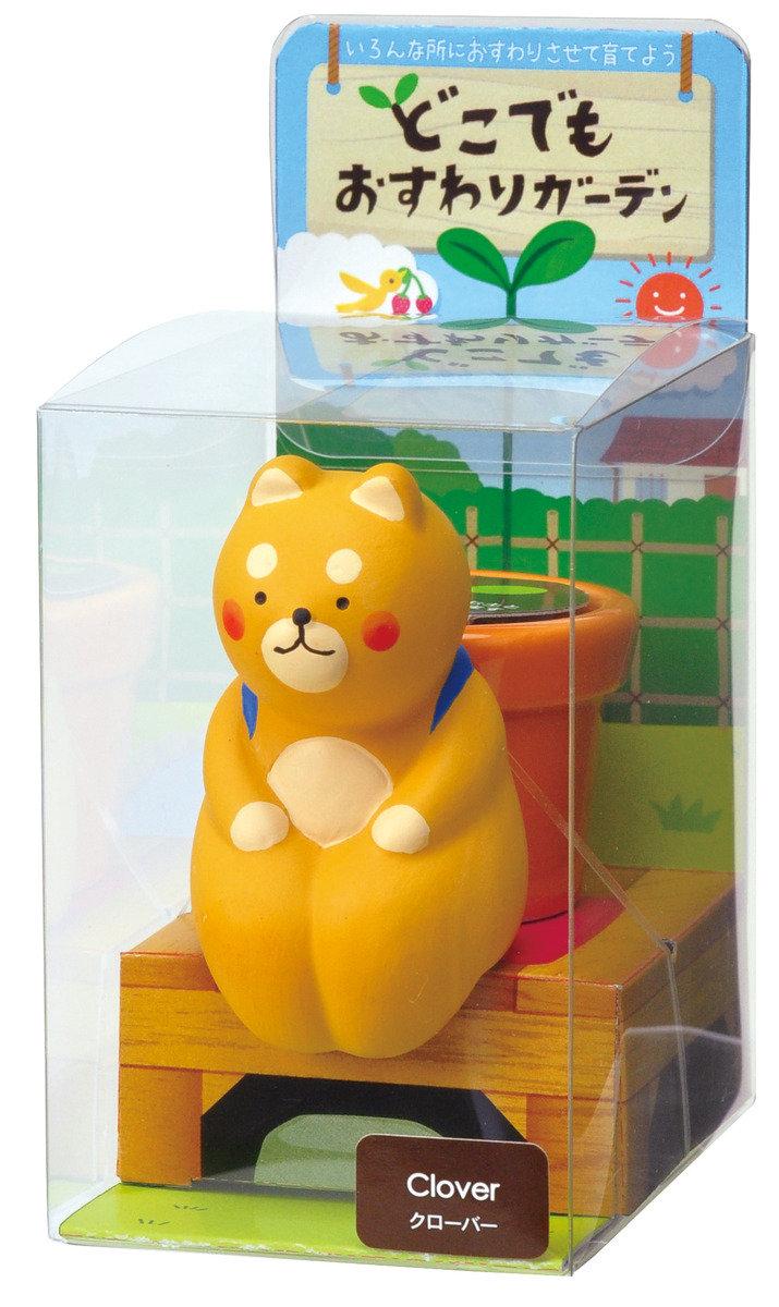 日本進口Seishin Osuwari Garden Backpack 動物吸水盆栽 - 小熊