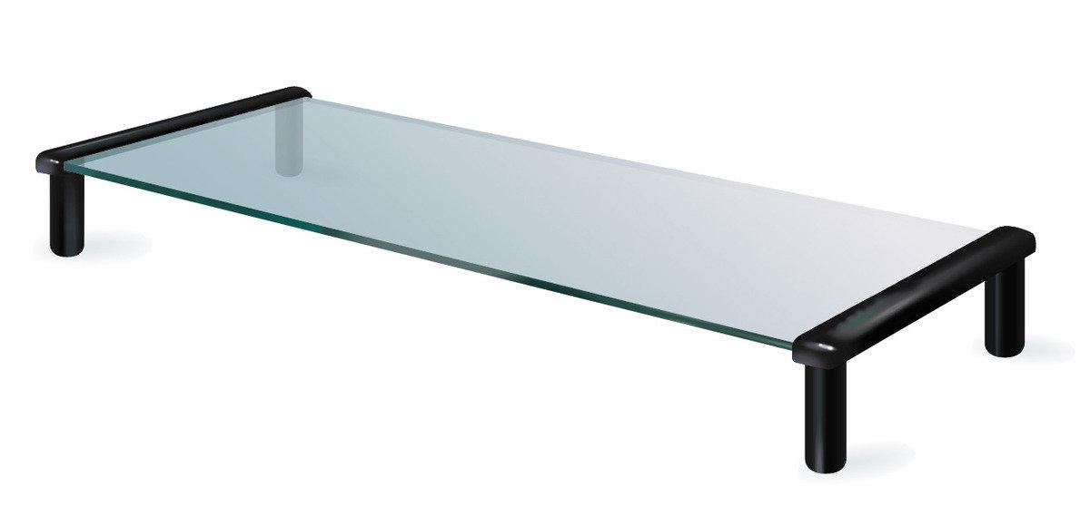 TB502B多用途強化玻璃支架(黑色)