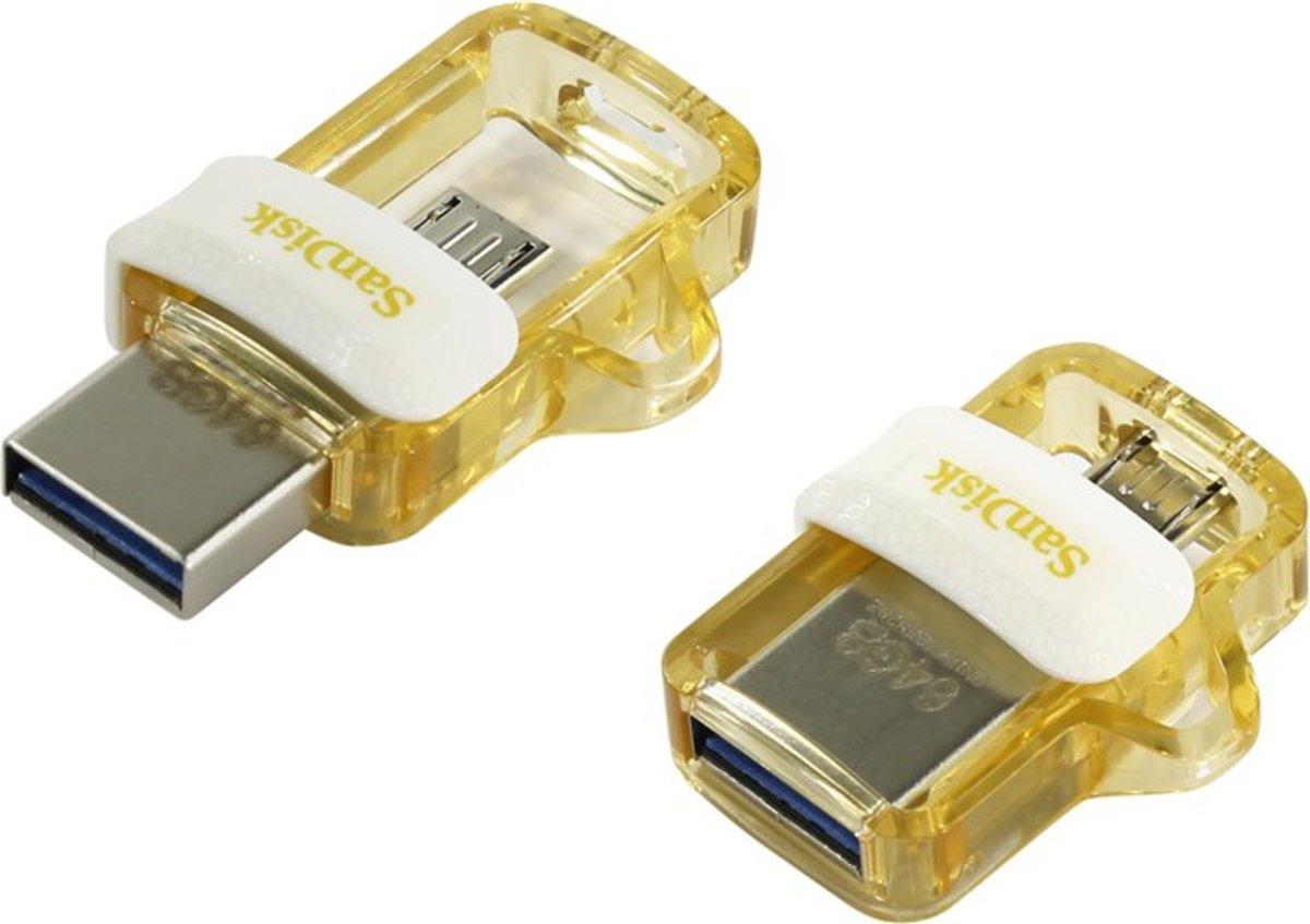 Sandisk 32gb Ultra Dual Usb M30 Hktvmall Online Shopping Flashdisk Otg