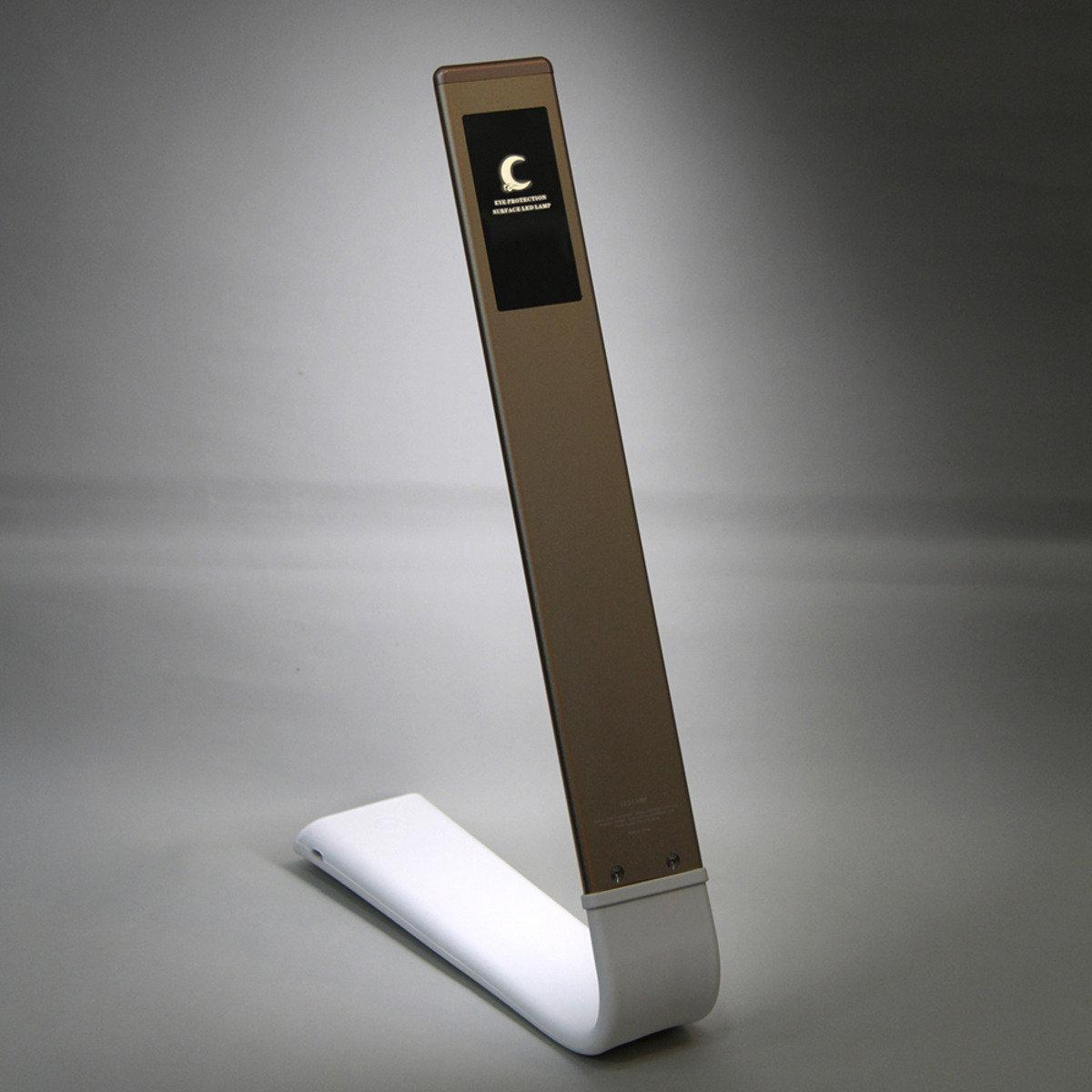 LED輕觸式調光護眼燈-金色