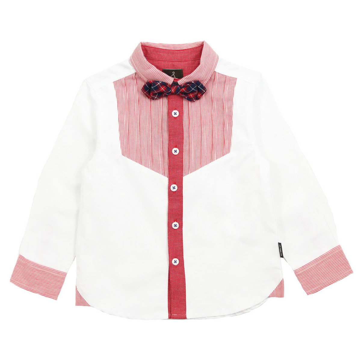 Dress shirt w/ Detachable Bow Tie