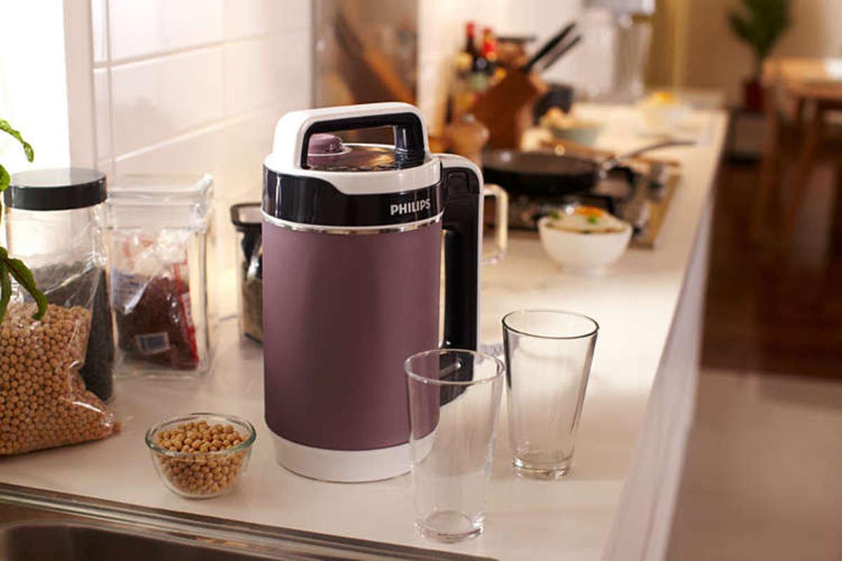 免過濾豆漿濃湯機(可製豆漿、米糊、濃湯、粒粒湯及果蔬冷飲)