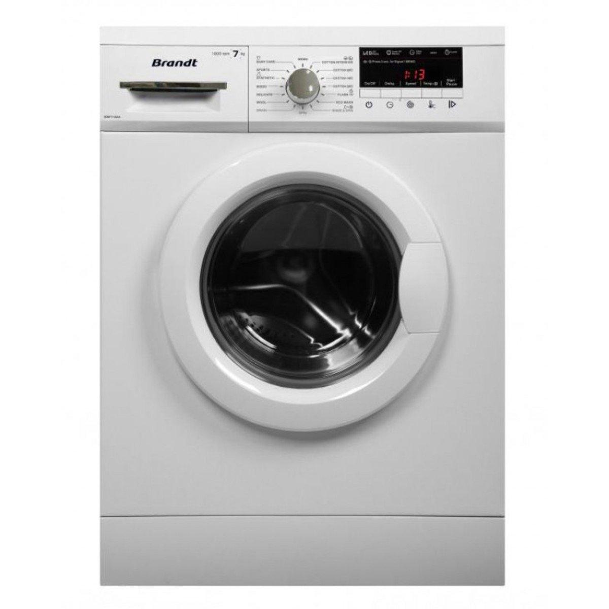 白朗牌 7公斤 1000轉 LED顯示 前置式洗衣機