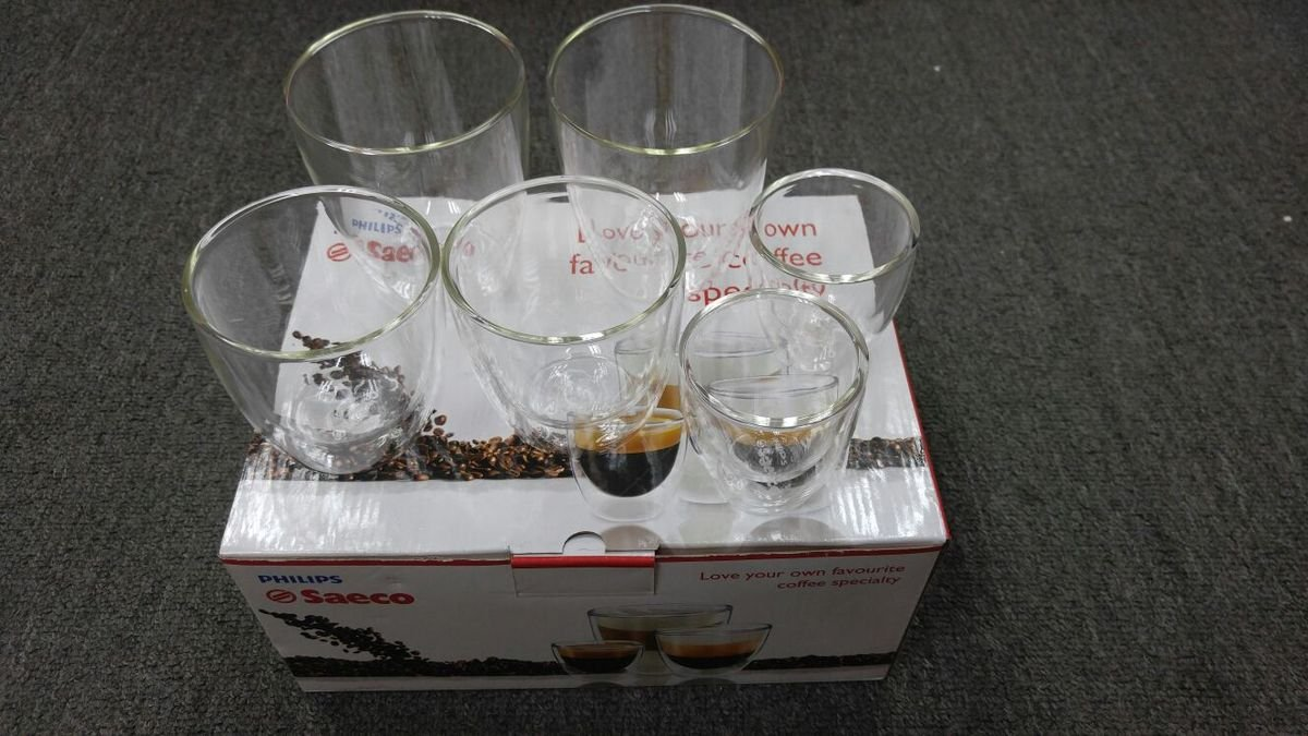 飛利浦 SAECO系列 咖啡杯 一套六隻