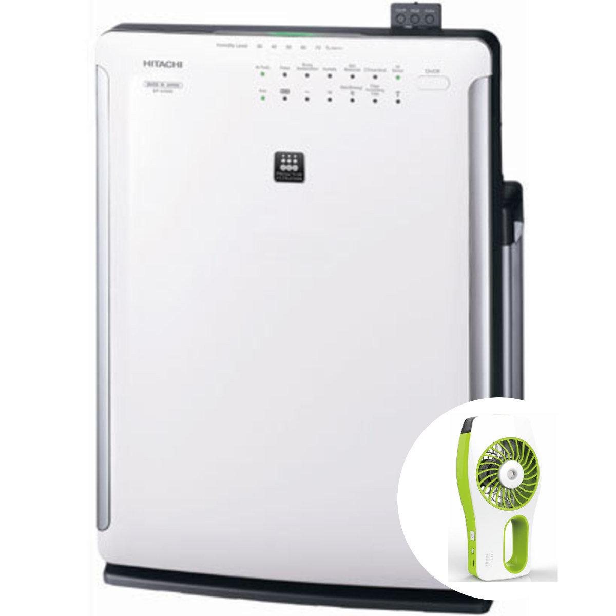凡購買日立牌日本製造加濕空氣清新機A7送USB充電霧化加濕風扇乙個(名額50個, 送完即止)