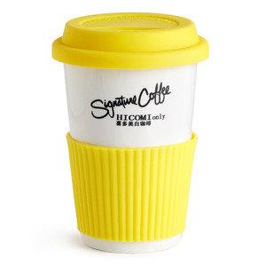 [贈品] 咖啡杯 (黃色)