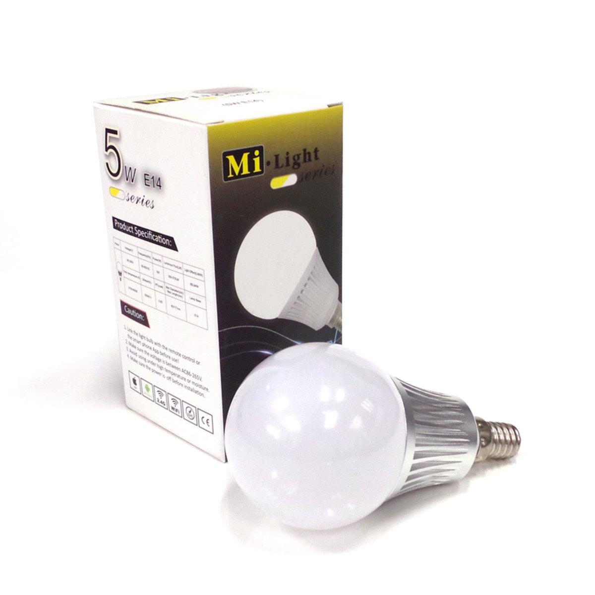 冷暖雙白系列智能燈泡 5W  (FUT011) E14