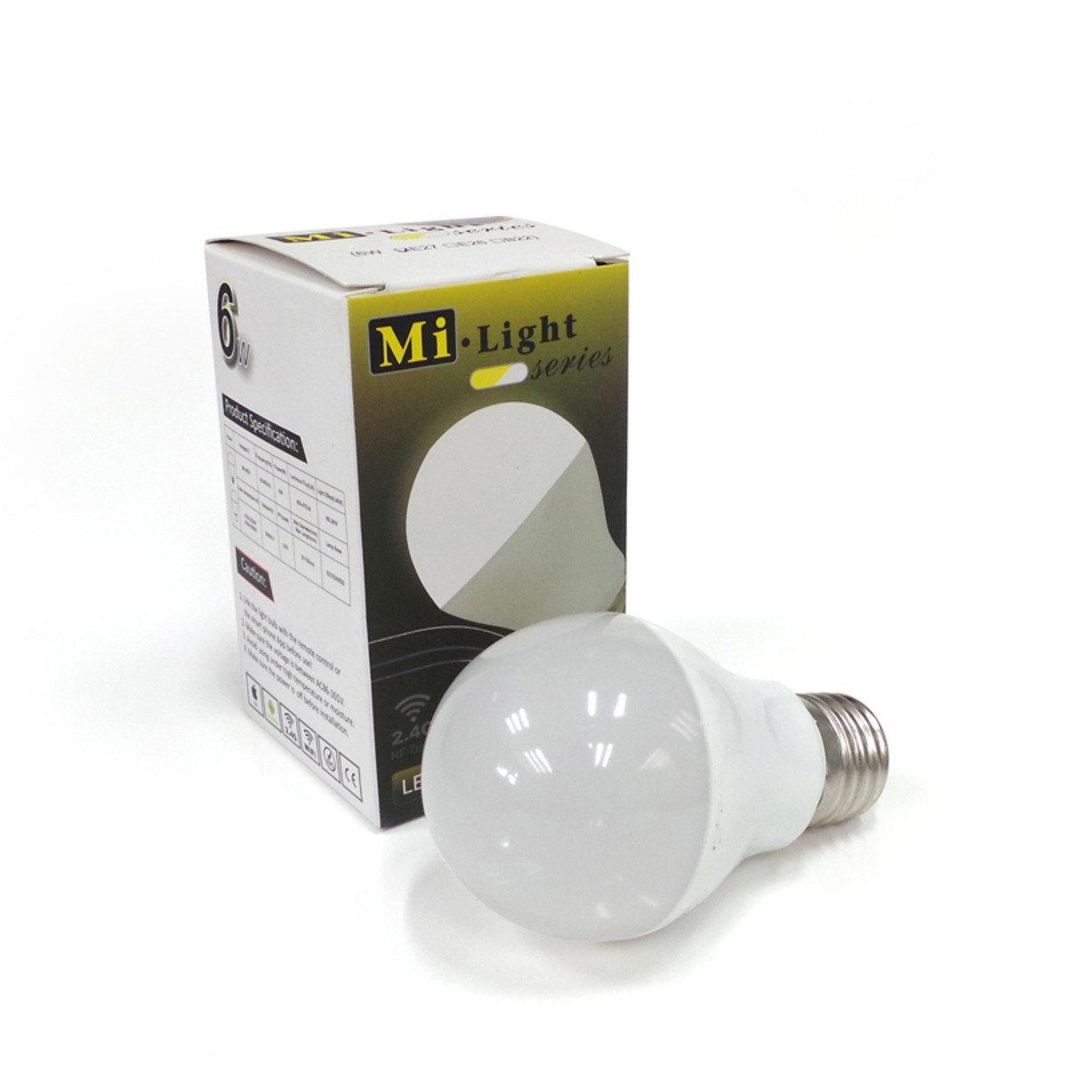 冷暖雙白系列智能燈泡 6W  (FUT017) E27