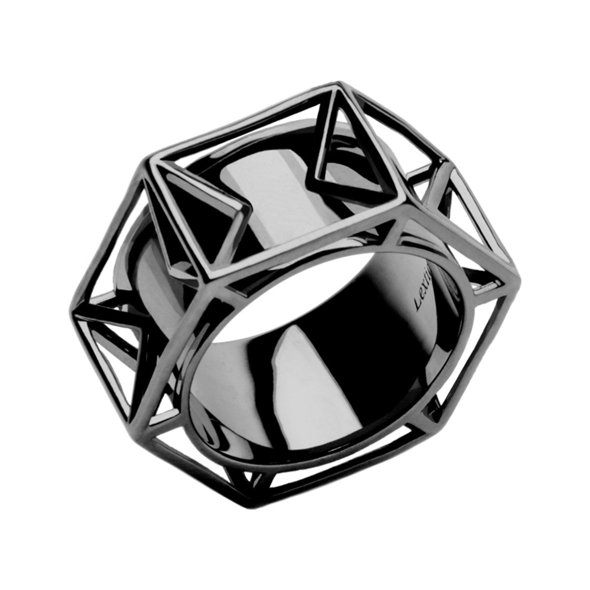 Icosahedron 925 純銀 戒指