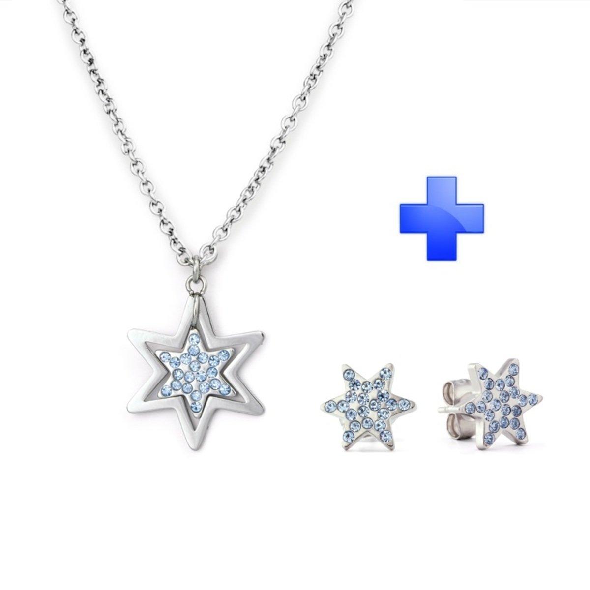 Xmas Gift Set – Galaxia 精鋼 吊墜 耳環