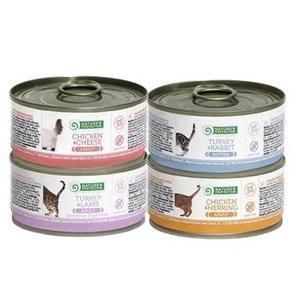 [贈品] 天然主食貓罐(隨機口味)