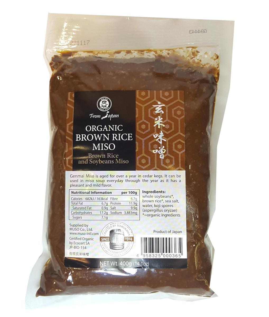 有機糙米味噌/400克