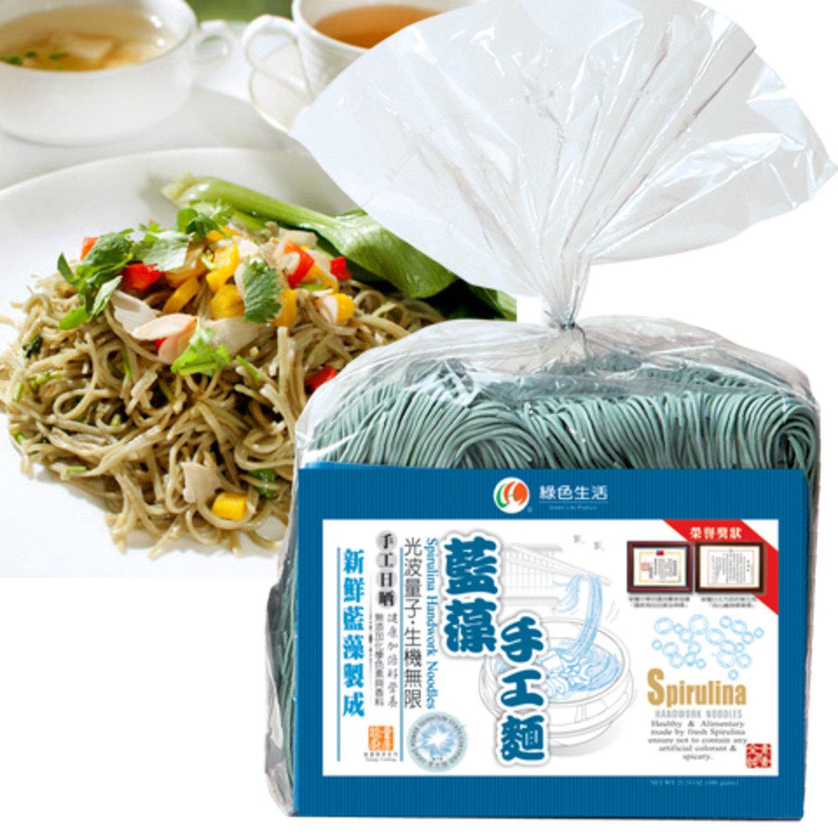 藍藻手工麵條/600克