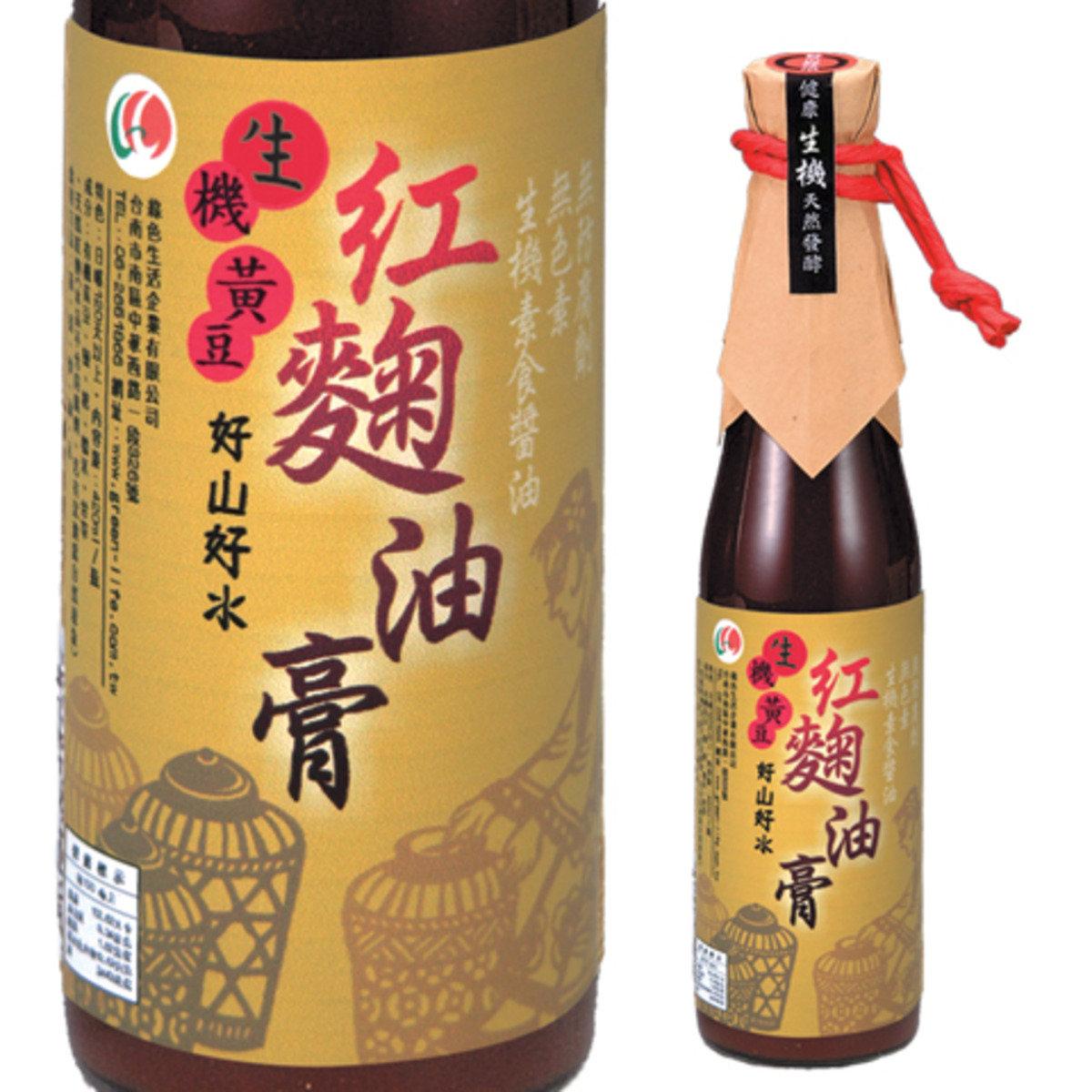 生機黃豆紅麴油膏/420毫升