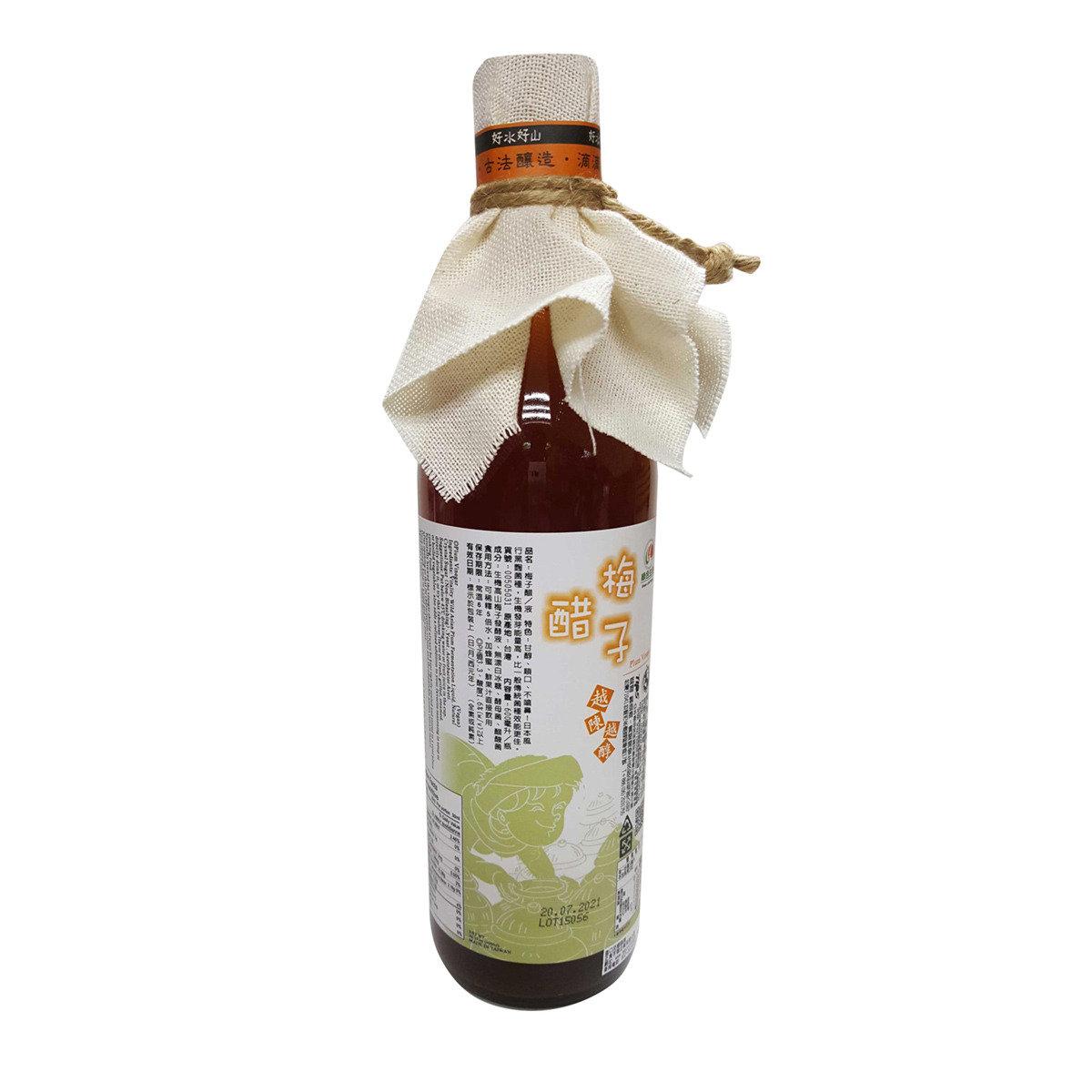 高山梅子醋/600毫升