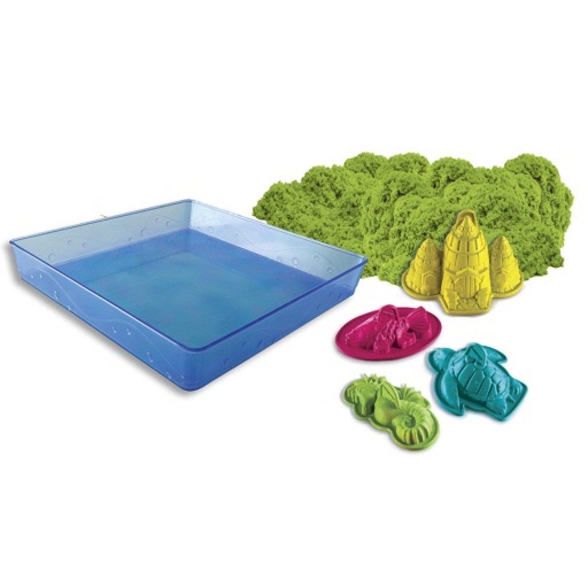 Kinetic Sand 動力沙: 動力沙套裝_綠色
