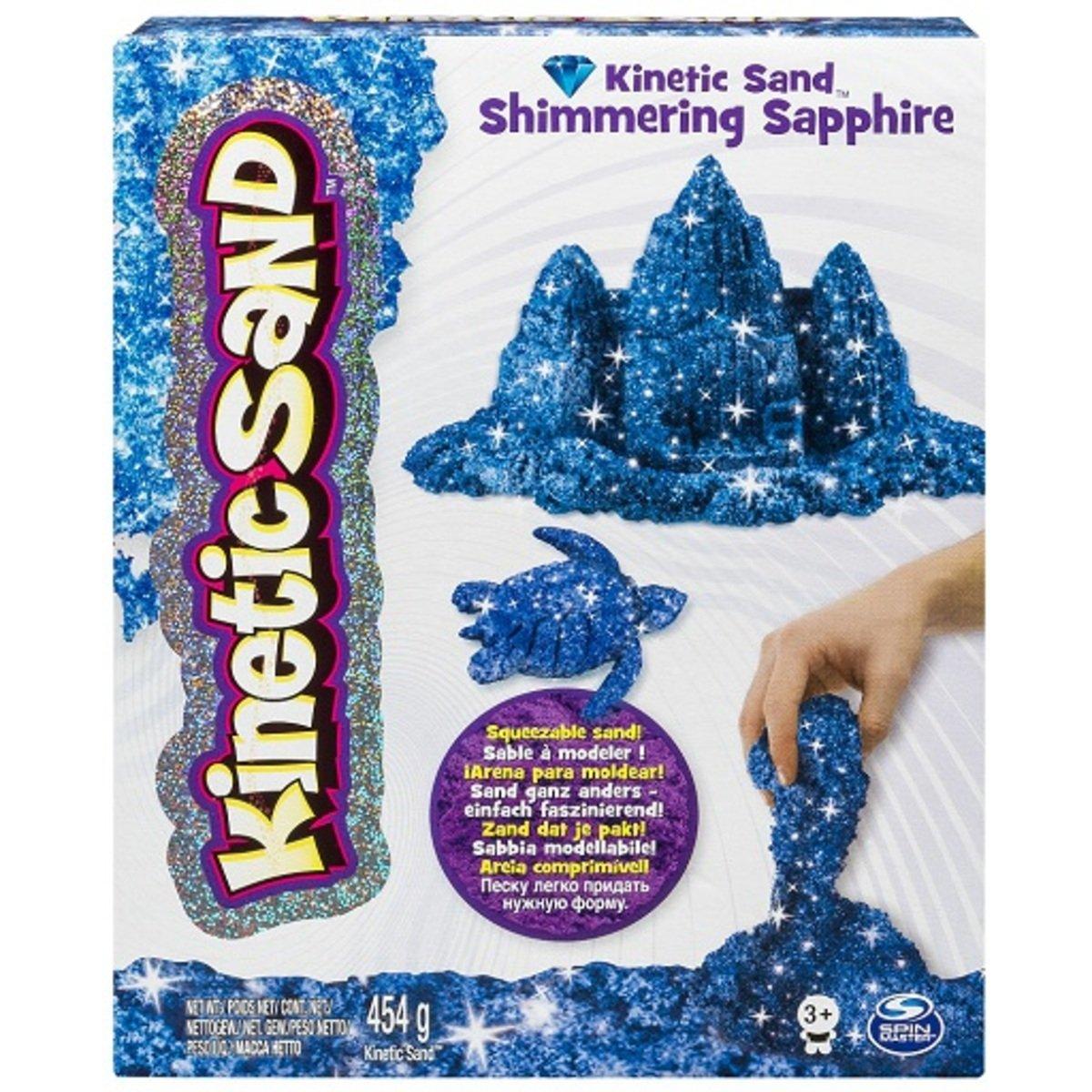 動力沙_1磅寶石沙_閃亮的藍寶石