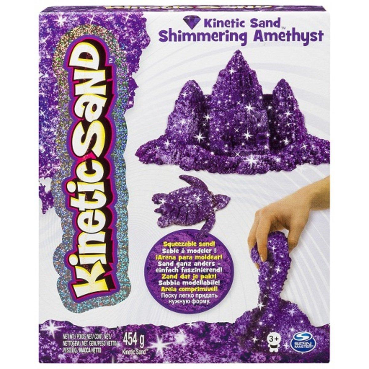 動力沙_1磅寶石沙_閃亮的紫水晶