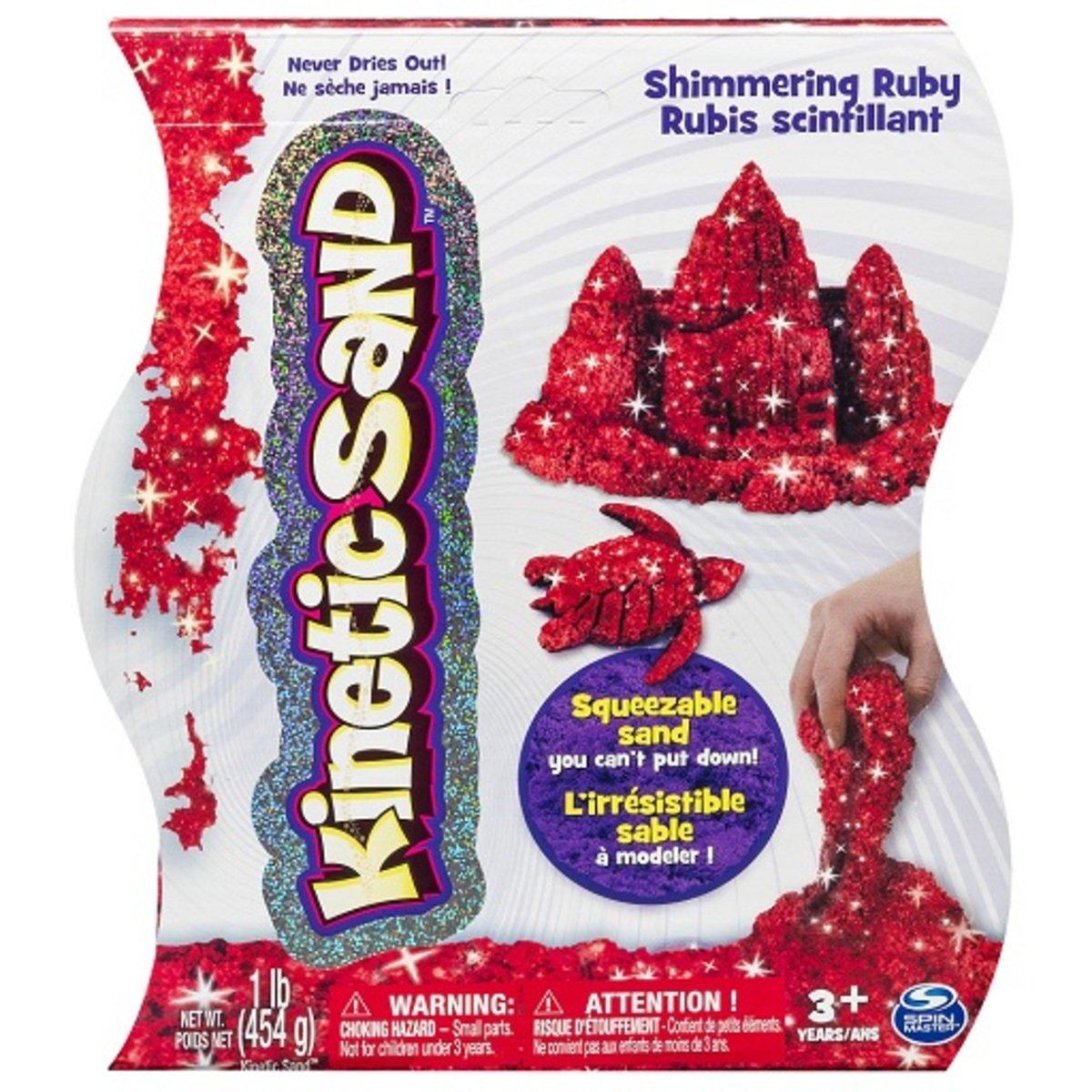 動力沙_1磅寶石沙_閃亮的紅寶石