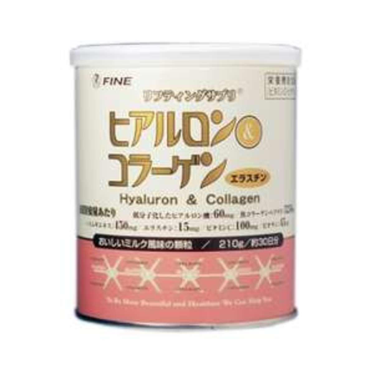 透明質酸及膠原蛋白(普通罐裝 210克)